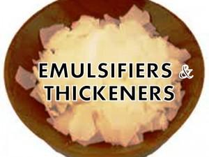 Emulsifiers & Thickeners