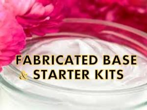 Fabricated Base & Starter Kits