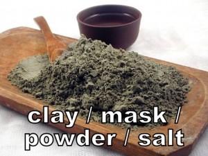 Clay, Mask,Powder, Salt